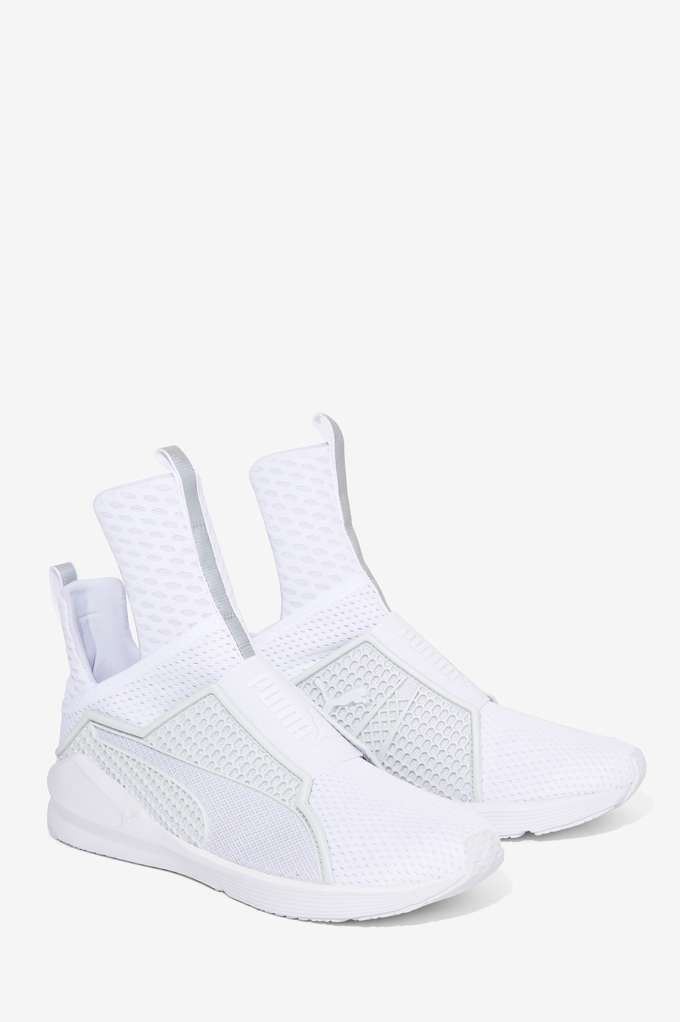 Rihanna x Puma Fenty Trainer - White - Shoes | Sneakers