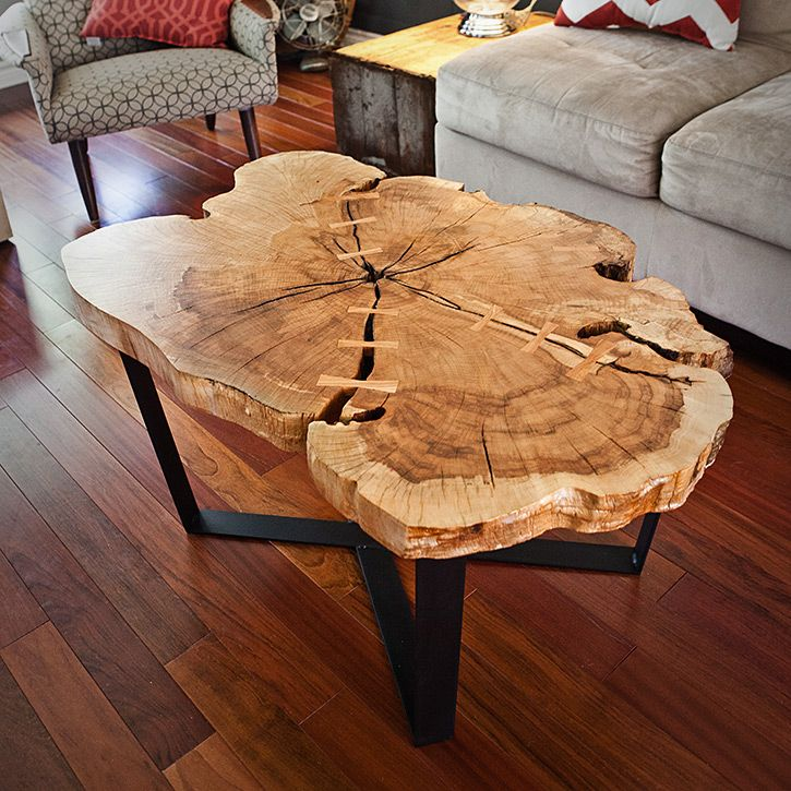 Best Spalted Maple Coffee Table In 2020 Wood Slab Table Log 400 x 300