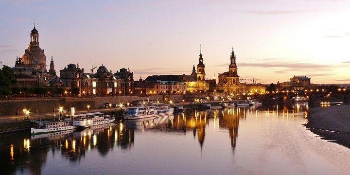 Dresden, Saxony, central Germany