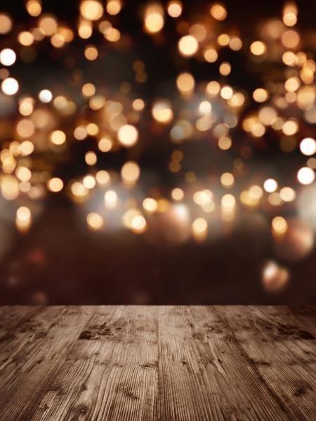 Gedruckte Bokeh Spot Glitter Holzboden Fotografie Kulissen - S-2295 - #Backdrops #background #Bokeh #Floor #Glitter