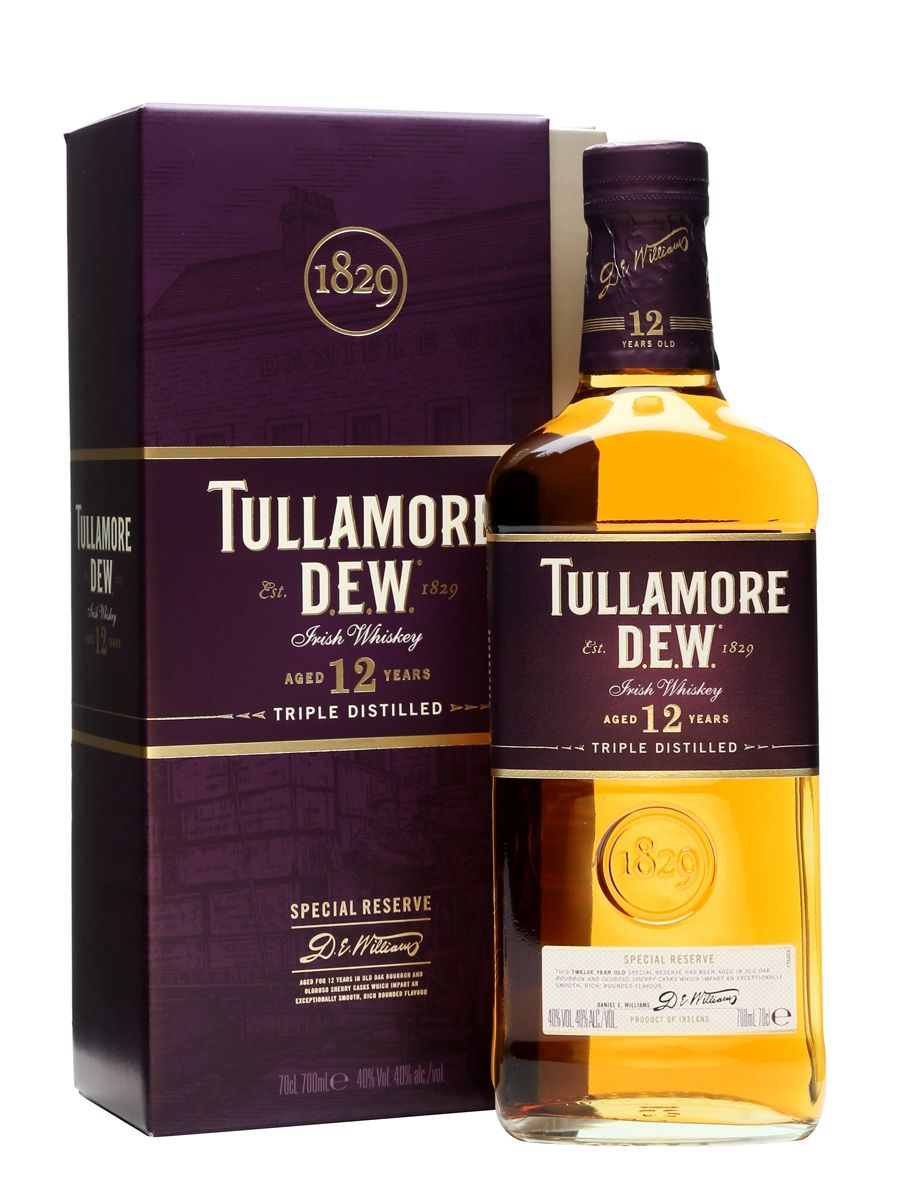 Tullamore Dew 12 Year Old Special Reserve Ireland With Images Best Irish Whiskey Irish Whiskey Brands Whiskey