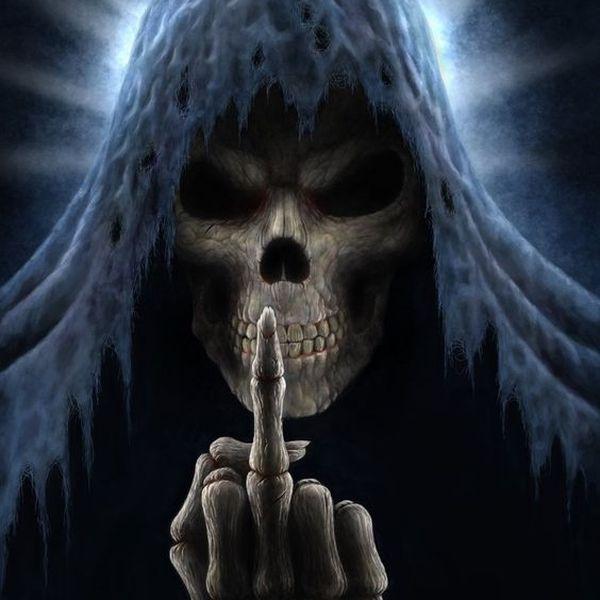 Darkmixexp Skull pictures, Grim reaper, Skull wallpaper