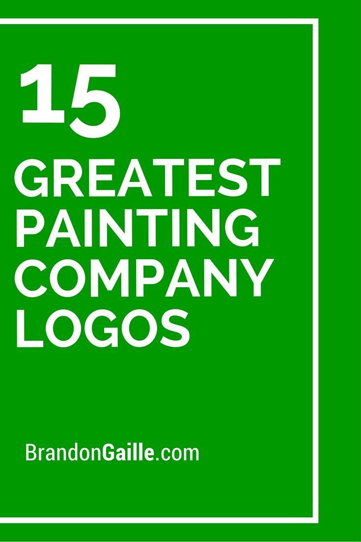 15 greatest painting company logos company names company logo railroad companies medical logo