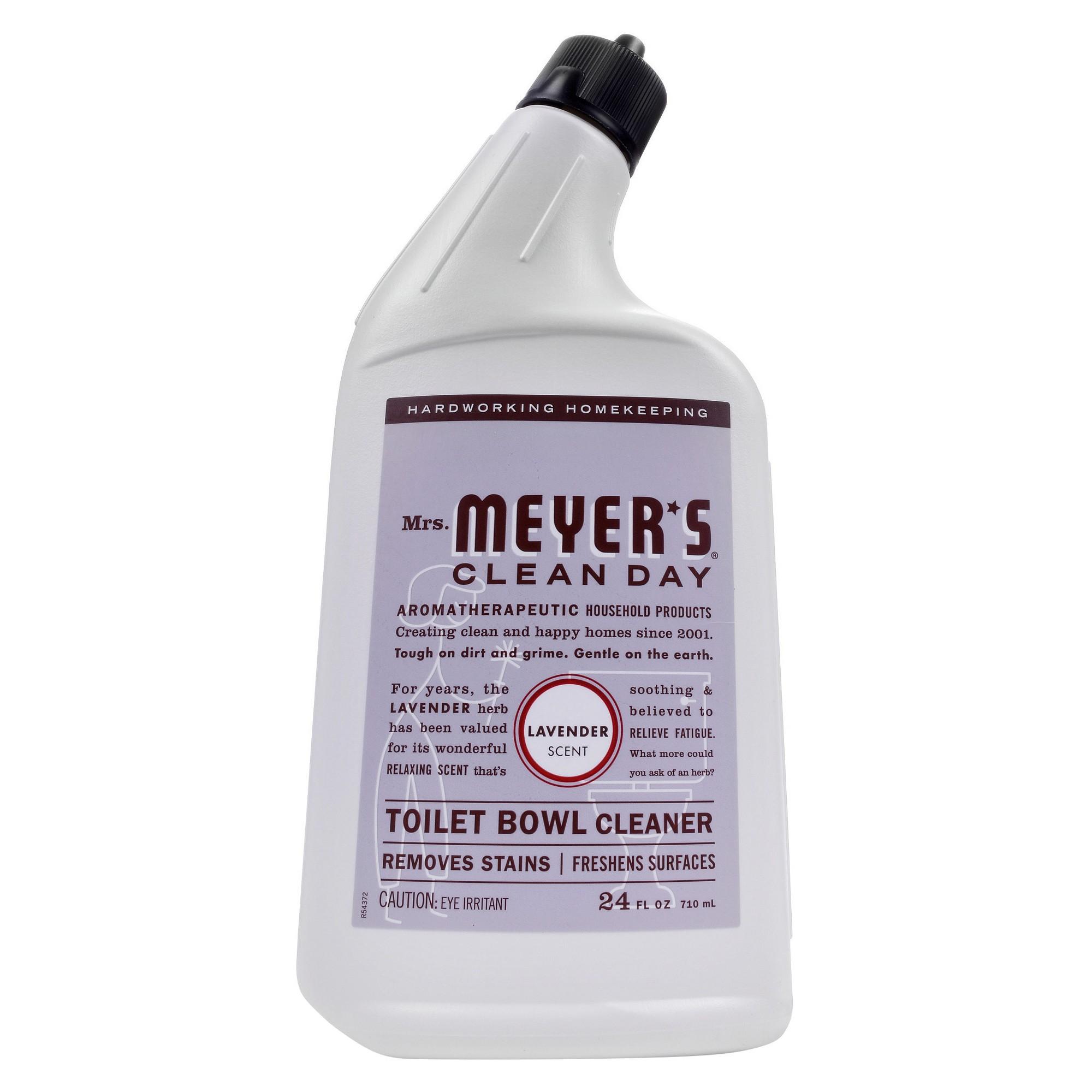 Mrs Meyer S Lavender Toilet Cleaner 24 Fl Oz Toilet Bowl