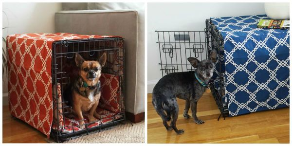 Unbelievably Easy Way To Make Your Dog S Crate Into A Pretty Piece