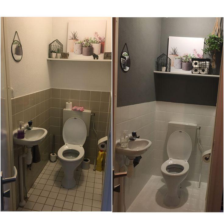 Toilet Gerenoveerd Pimpel Schilder Jeny Kunst Badkamer Opknappen Toilet Ontwerp Badkamerideeen