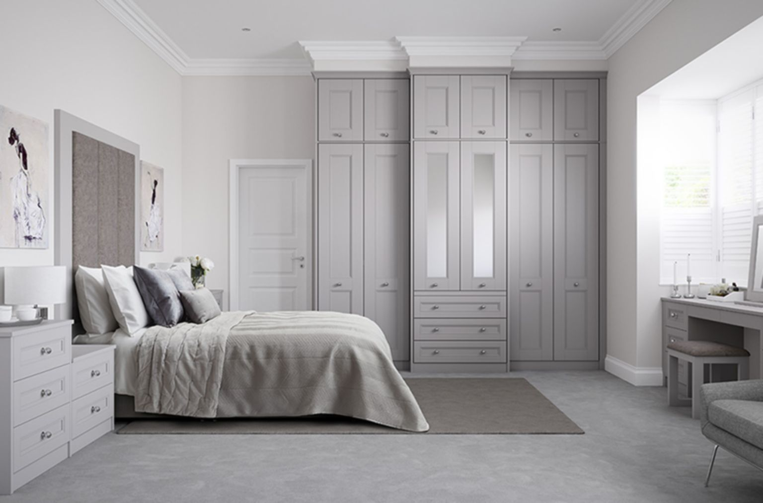 Ashbourne fitted bedroom | Fitted bedrooms, Bedroom ...
