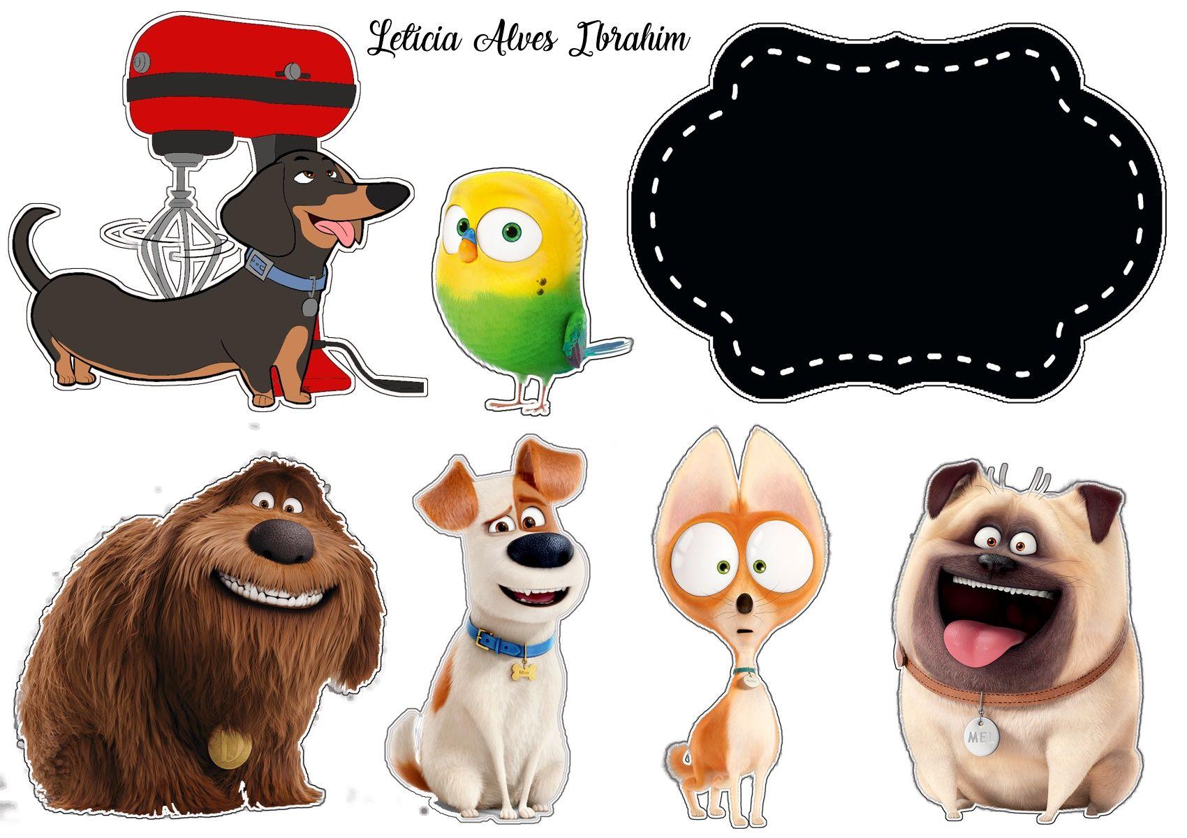Topper Pets Toppers De Bolo Scrap Para Bolo Topo De Bolo