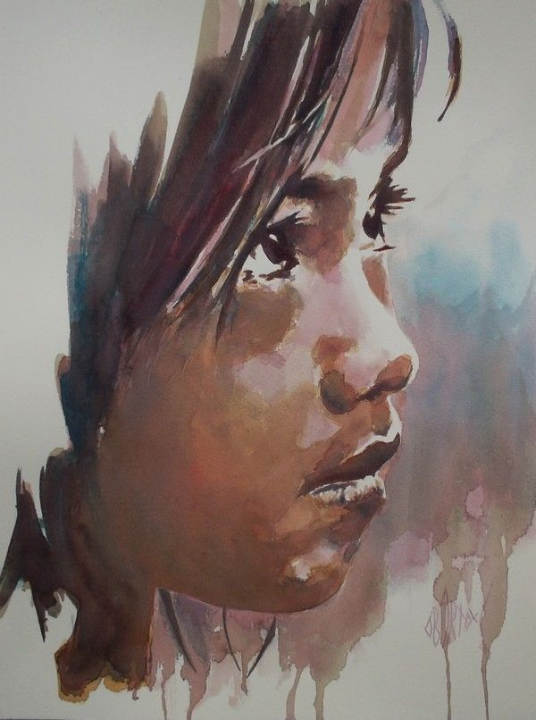 Super Painting People Acrylic Faces Ideas Painting Watercolor