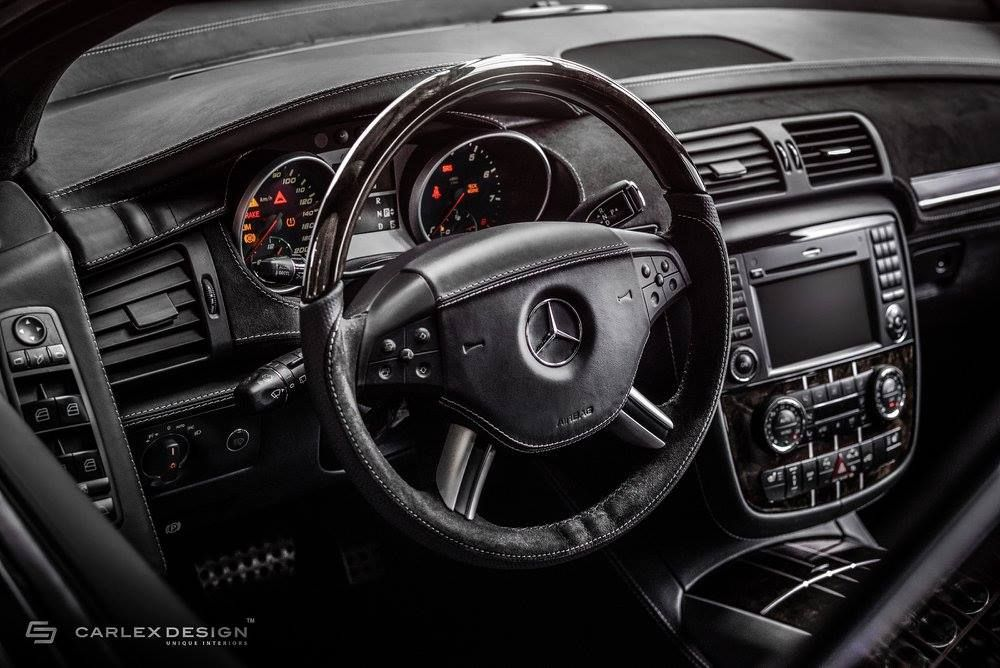 Mercedes Benz R63 Amg Gets Unique Interior From Carlex Design