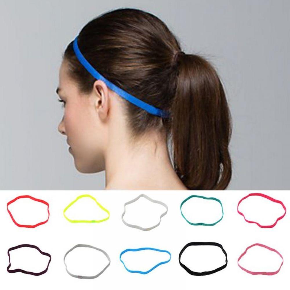 Softball  Football Running Women Men Sport Hairbands Anti-slip Elastic Bands