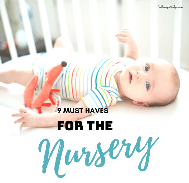 9 must have items for your nursery baby checklist   Baby ...