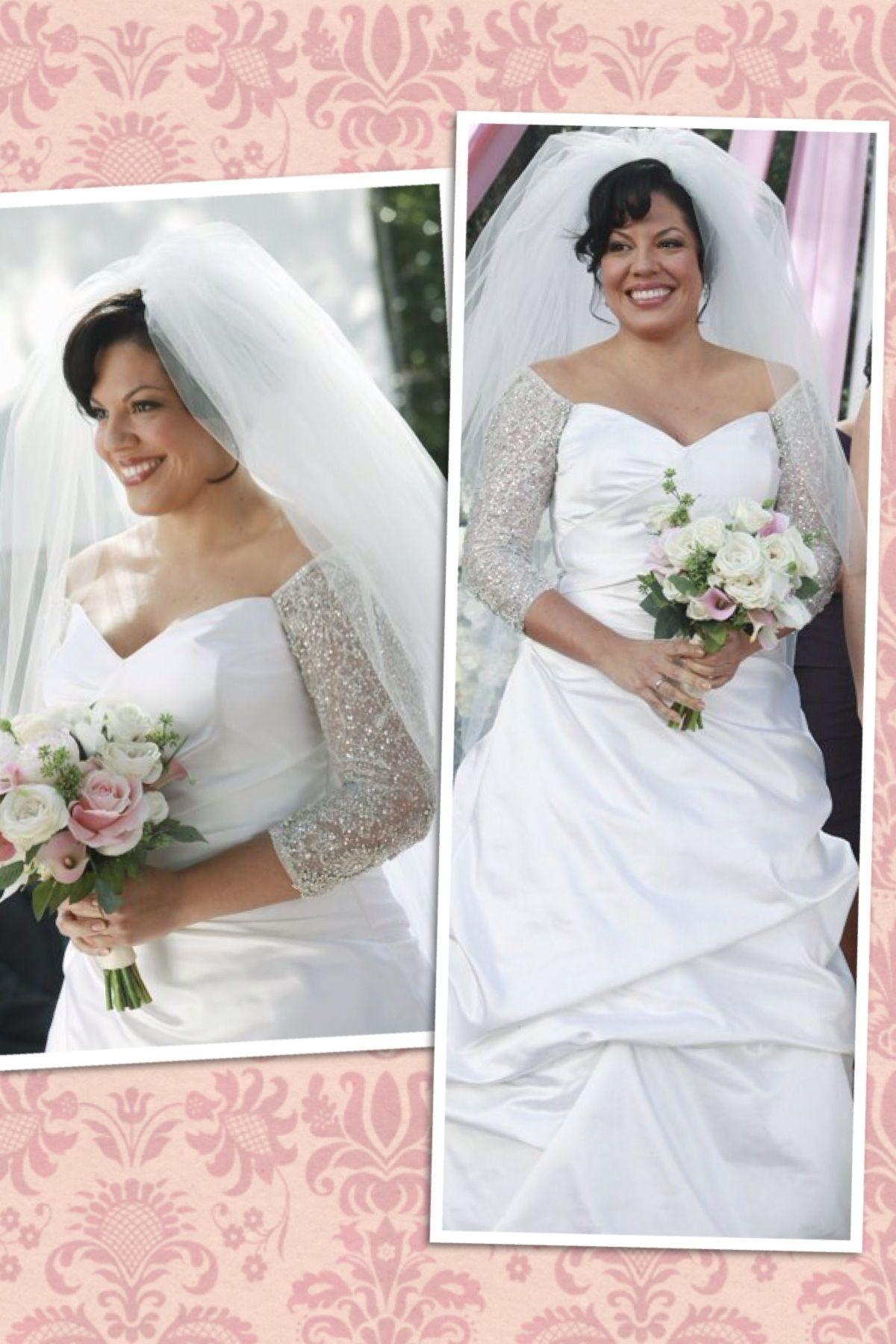 Callie torres wedding dress