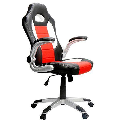 Cheap EAMBRITE Ergonomic Racing Chair Hight-back PU