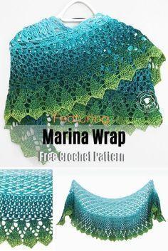 Stunning One Ball Shawl Free Crochet Pattern - Knit And Crochet Daily