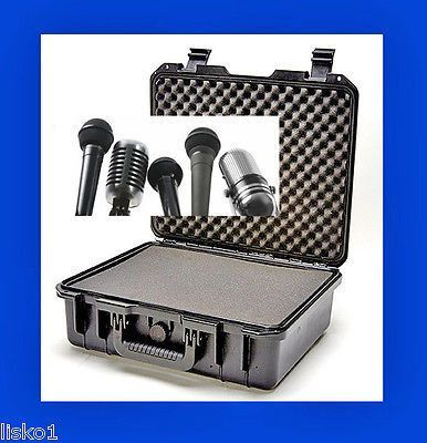 TZ CASE #CB-016B ,BUFFALO RUSTPROOF-WATERPROOF microphone case, safe and dry