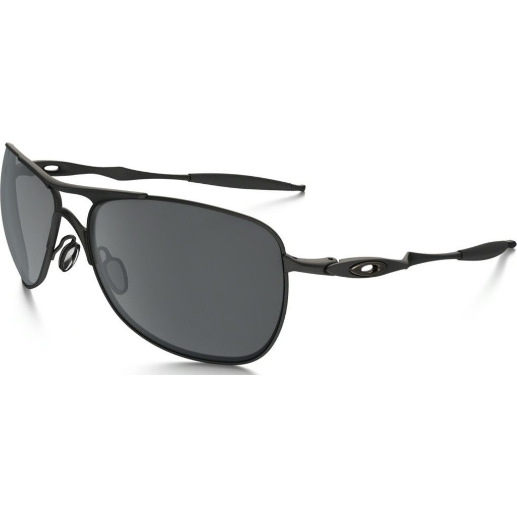 584214712e440 The Oakley Iconic Crosshair Matte Black Sunglasses are secured with Black  Iridium lens for an all-black classic look. This piece of quality eyewear  takes a ...