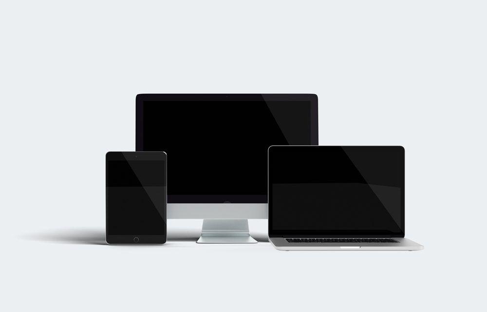 Responsive Design Devices Mockup Responsive Design Macbook Mockup Mockup