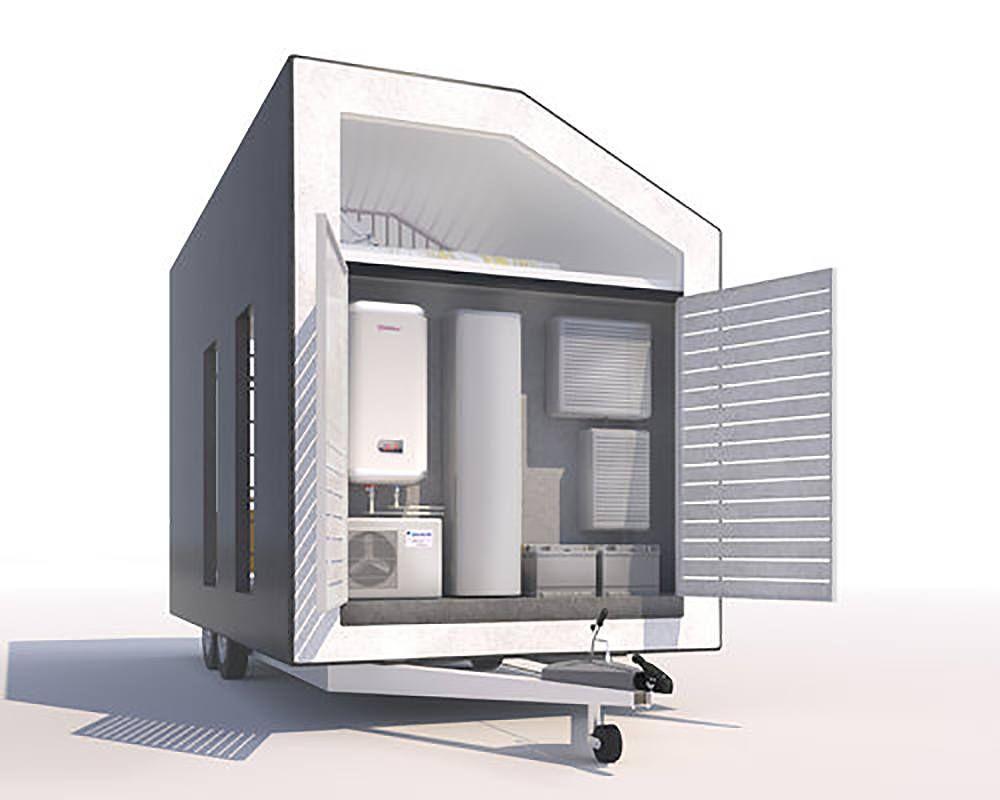 staykondo des micro maisons modulaires en chanvre industriel maisons petites choix. Black Bedroom Furniture Sets. Home Design Ideas