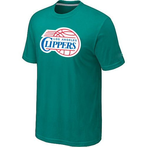 NBA Store � Los Angeles Clippers Big \u0026 Tall Primary Logo Green T-Shirt ,  for sale online