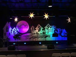 Resultado de imagen para christmas stage designs