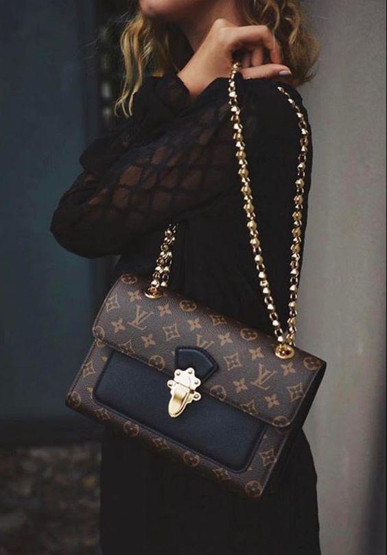 #Louis#Vuitton#Handbags LV Women Leather Shoulder Bag Tote Handbag, 2019 New LV Collection to Have. #louisvuittonhandbags