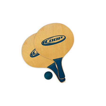 Wooden Paddle Ball Game The COOP Sports Nalu Paddle Ball game The vintage original 22