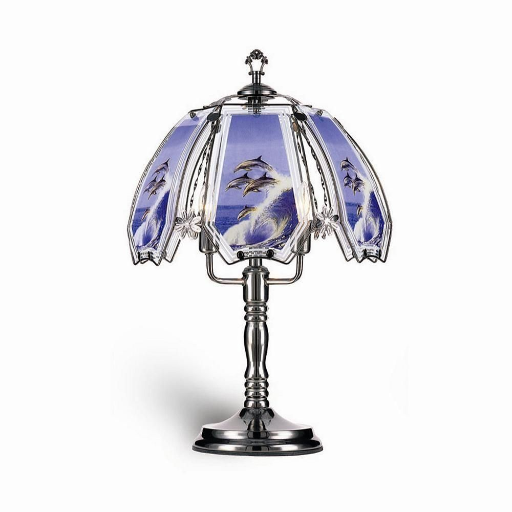 Ore International 23 5 In Dolphin Black Touch Lamp K306 Touch Lamp Touch Table Lamps Table Lamp