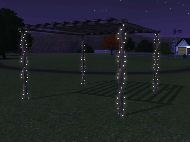 Sim Man123 S Hawthorne Pole Lights Lights Sims Sims 4