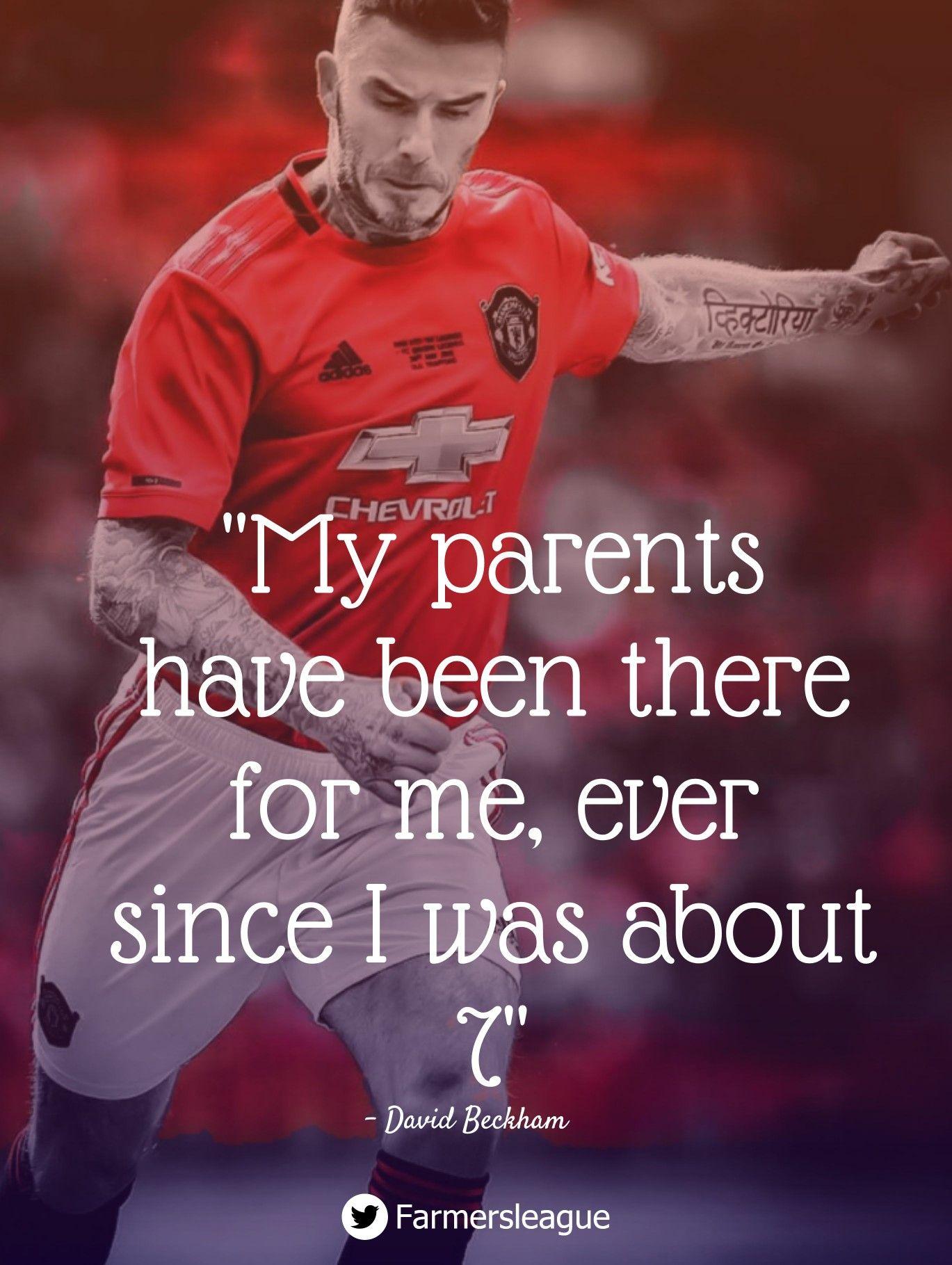 David Beckham Quotes Football Quotes Funny Soccer Quotes Funny David Beckham Quotes