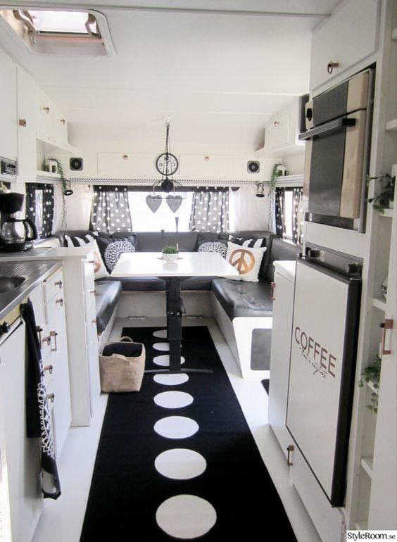 Roulotte Relooking Camping Car Interieur Roulotte Decoration Roulotte