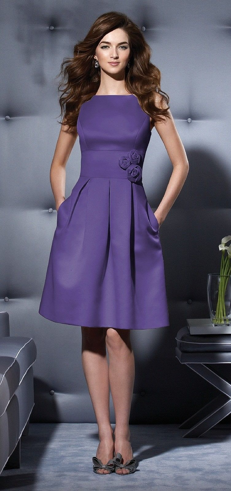 Dessy Style 2780 Bridesmaid Dress in Ruby   All Things Weddings ...