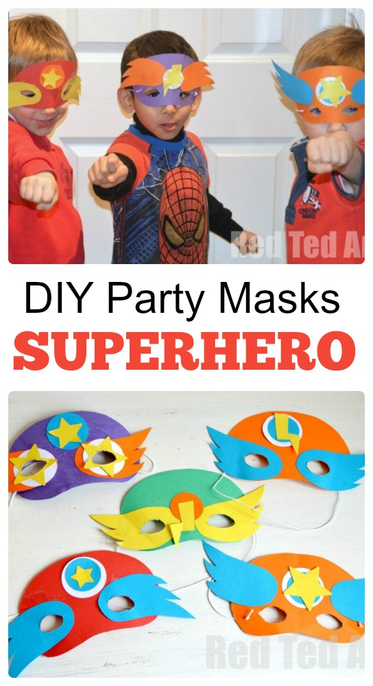 Superhero Party Ideas #superherocrafts