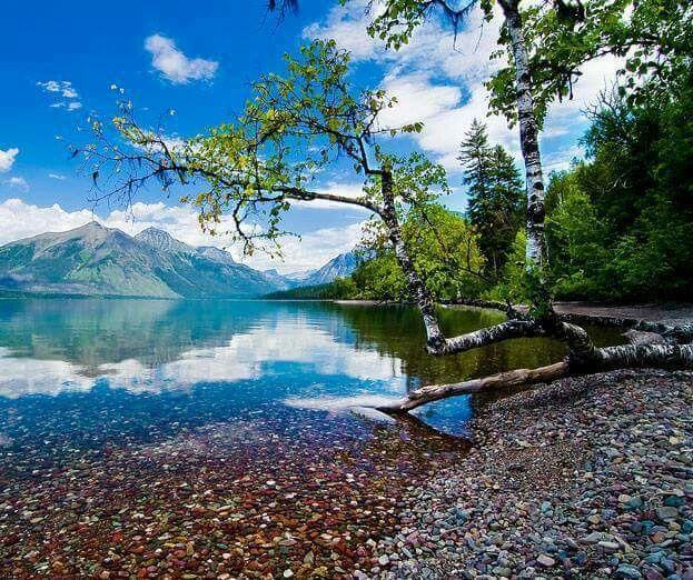 Lake MacDonald Montana USA