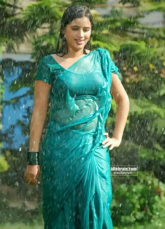 Wet Saree