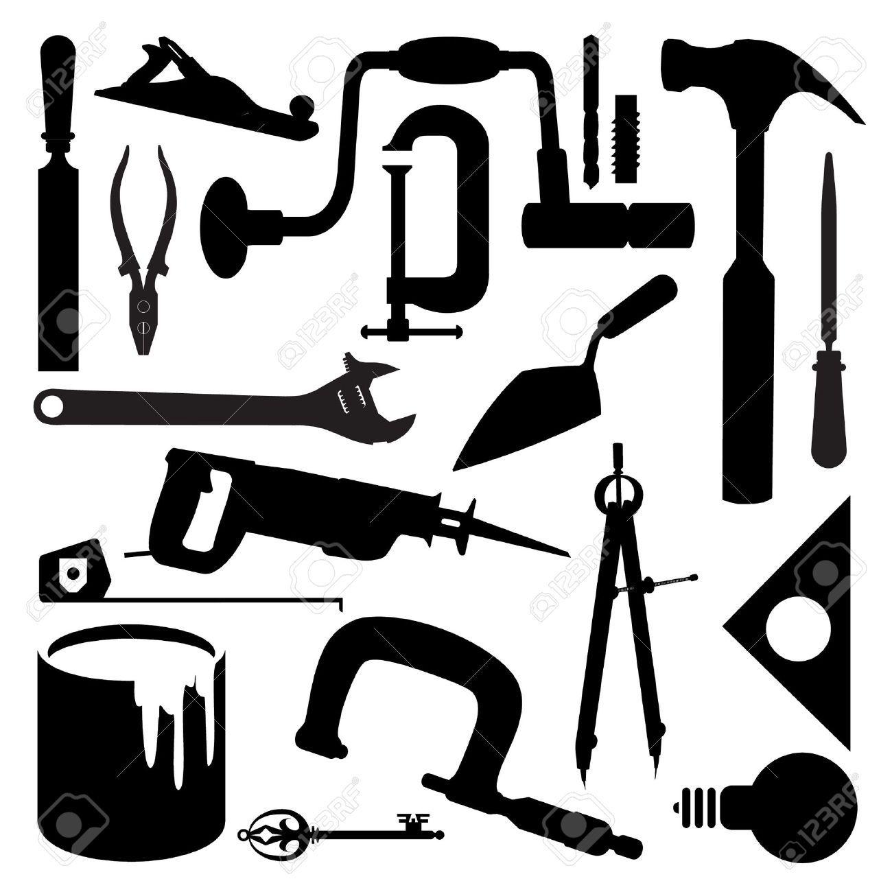 Woodworking Tools Vector Build Diy Woodworking