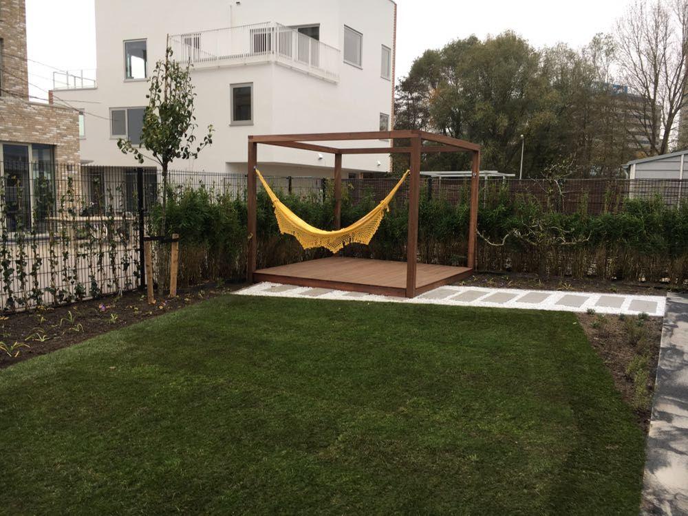 Nieuw aangelegde moderne tuin projecten pinterest moderne tuin