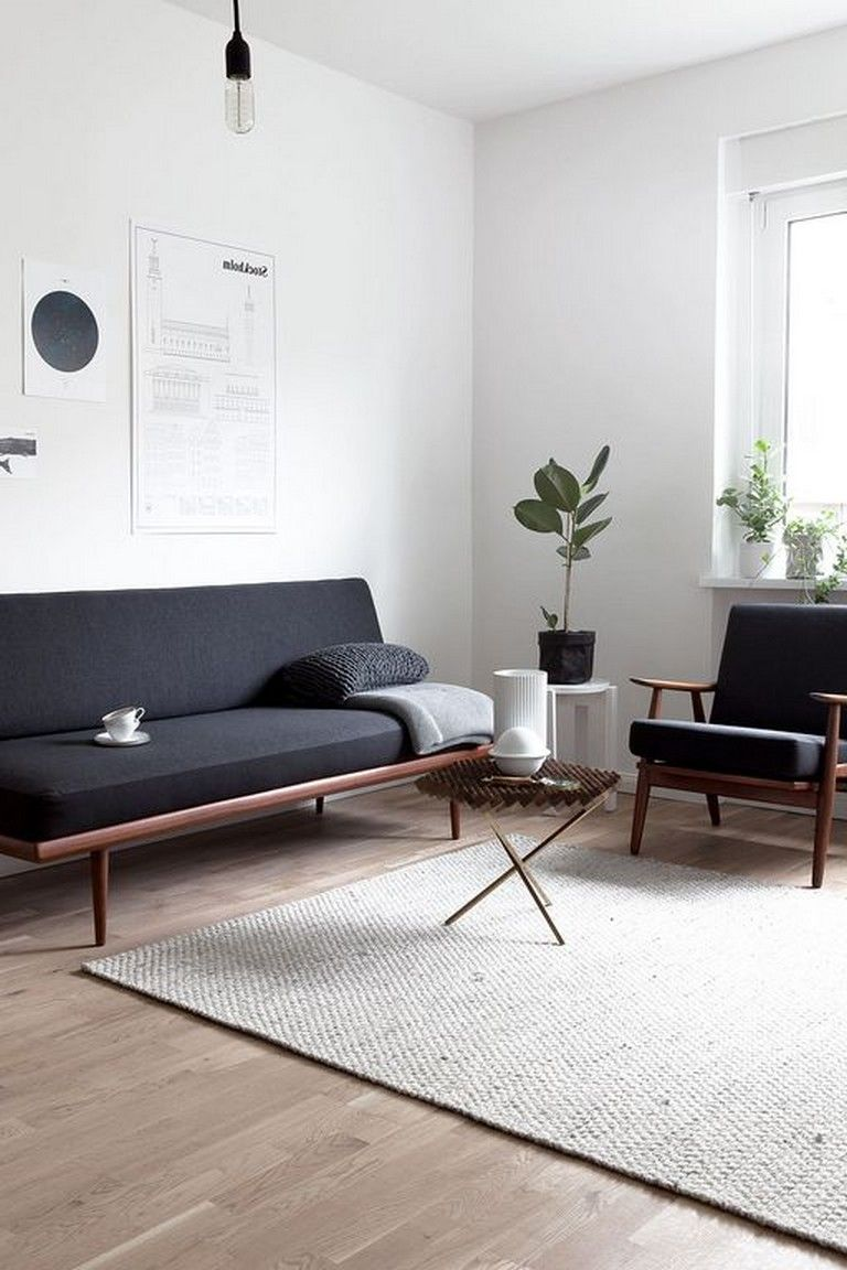 25+ Good Scandinavian Minimalist Living Room Ideas for Small Apartment #apartmentliving
