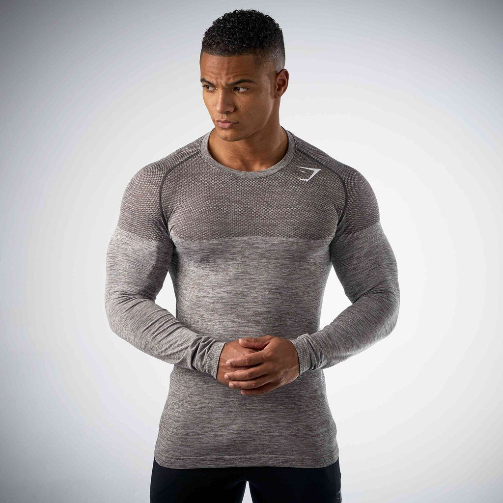 15353d46 Nike Pro Combat Hypercool Compression Seamless Long Sleeve T Shirt ...