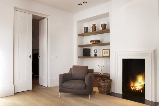 Luxe zitstoel in woonkamer inrichting | woonkamer ideeën | living ...