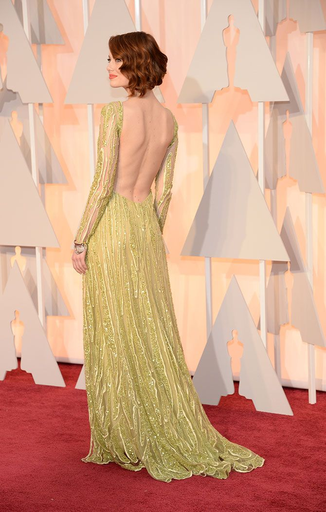 emma stone oscar 2015 dress - Buscar con Google