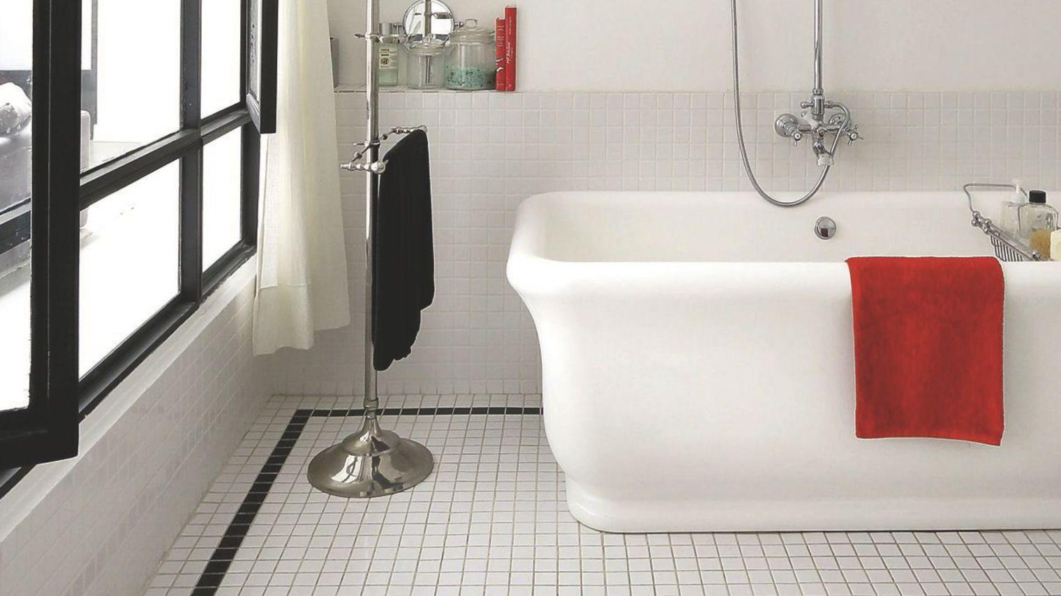 catelle de salle de bain retro - Recherche Google  Revetement