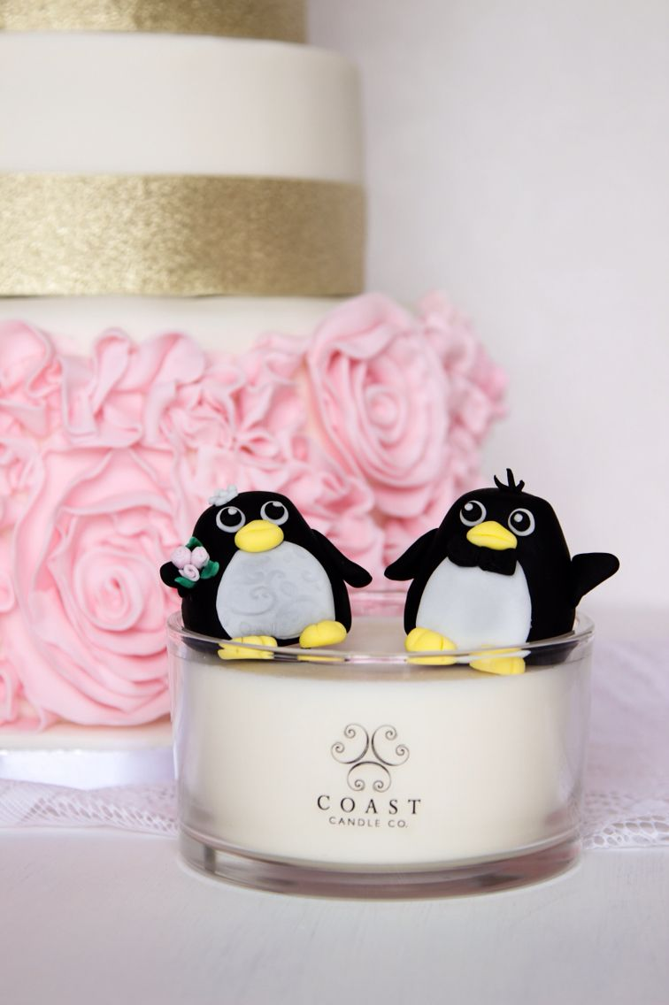 Coast candle with mr and mrs wedding cake toppers http://www ...