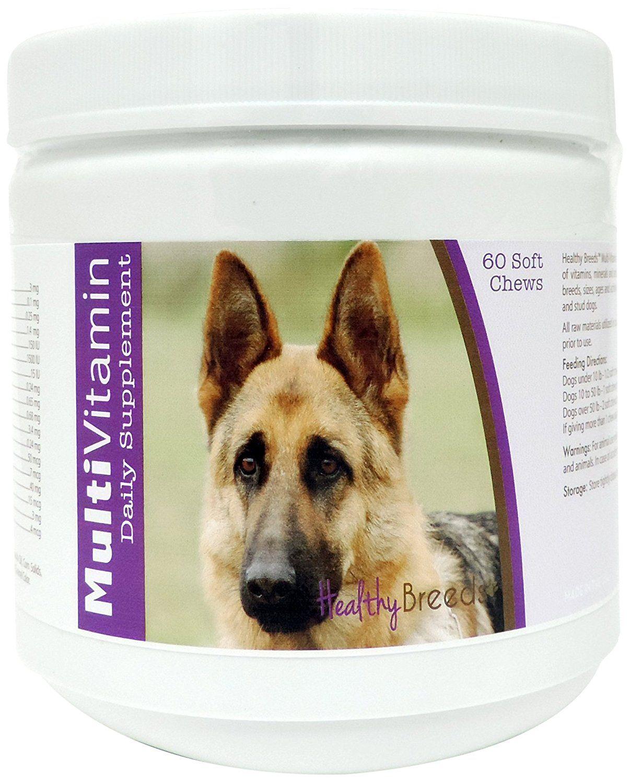 Healthy Breeds MultiVitamin Soft Chews, German Shepherd