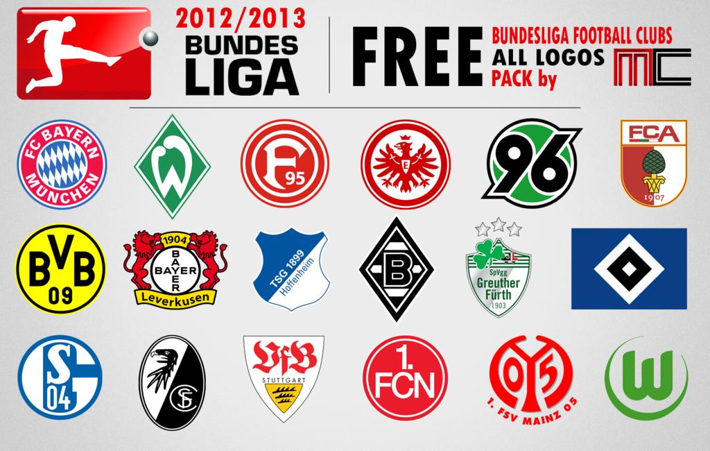 Bundesliga Vereinswappen