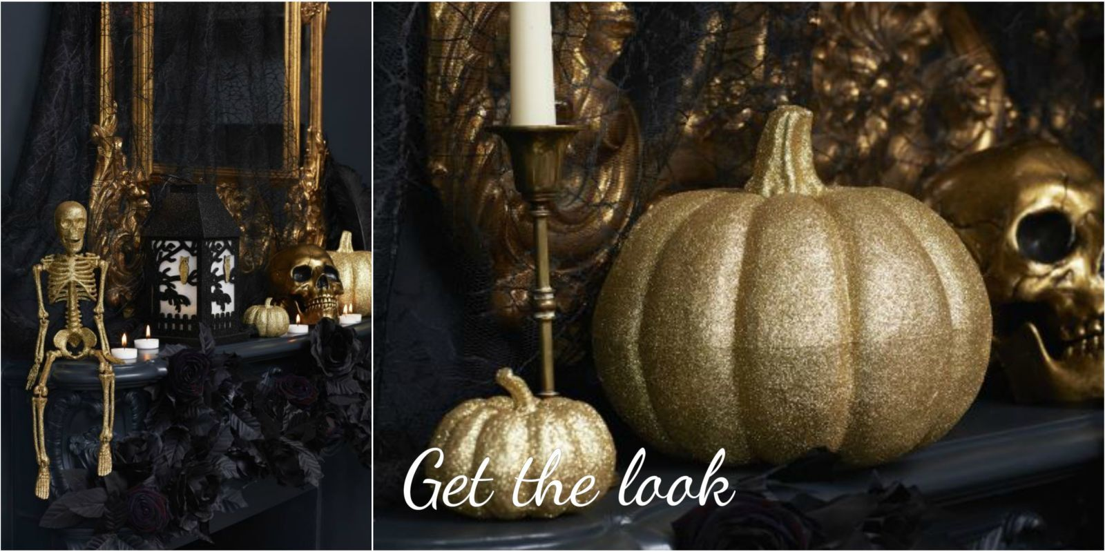 How to create a spooky yet glamorous Halloween hallway