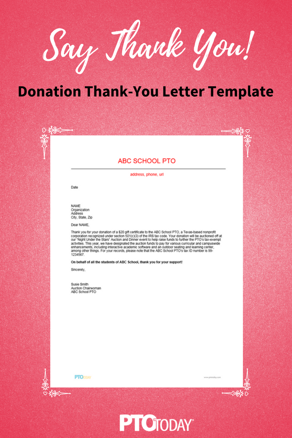 Fundraising Thank You Donation Thank You Letter Donation Letter Fundraising Letter