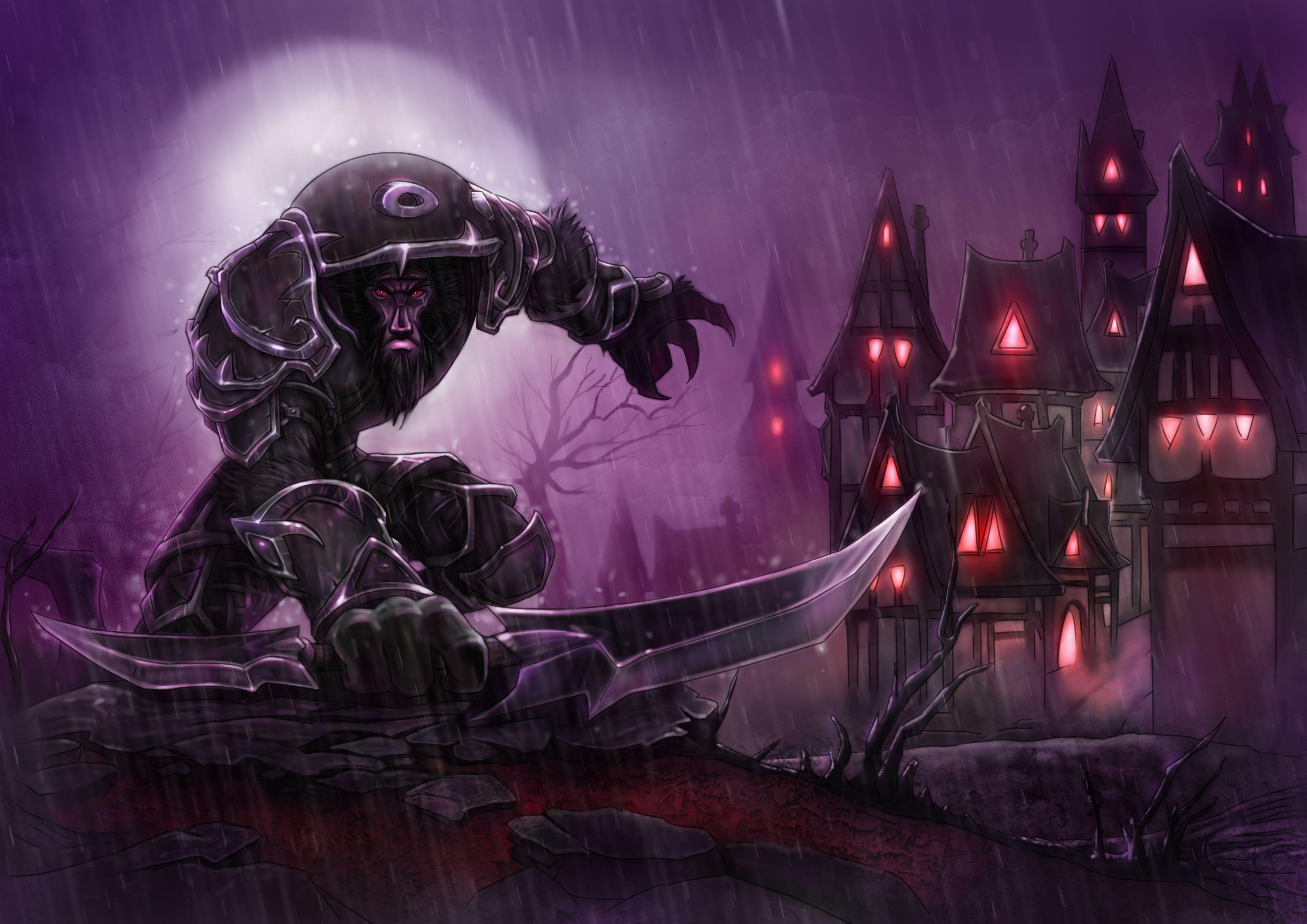 Worgen Rogue World Of Warcraft Game World Of Warcraft World Of Warcraft Cataclysm