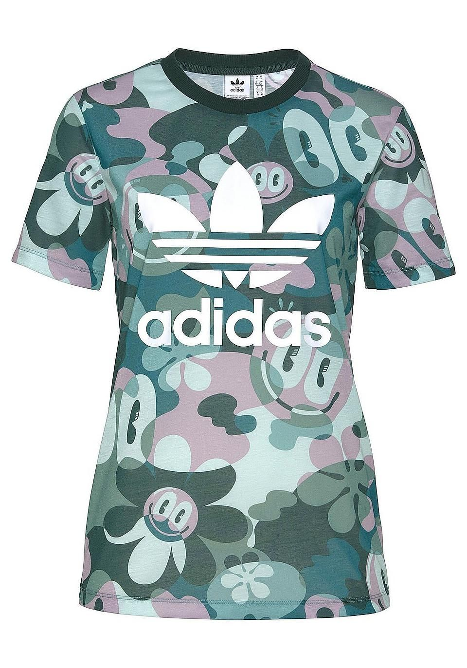 5270b9b34beab5 adidas Originals T-Shirt »TREFOIL TEE« | Sport Outfit Damen | BAUR ...