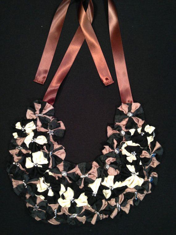 Bib Necklaces by WearMeKnot on Etsy, $60.00
